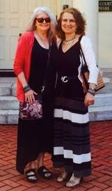 Karen Webster (L) with Priya Morgenstern, attorney